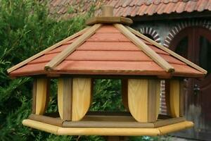 Bird table christmas gift wooden feeder