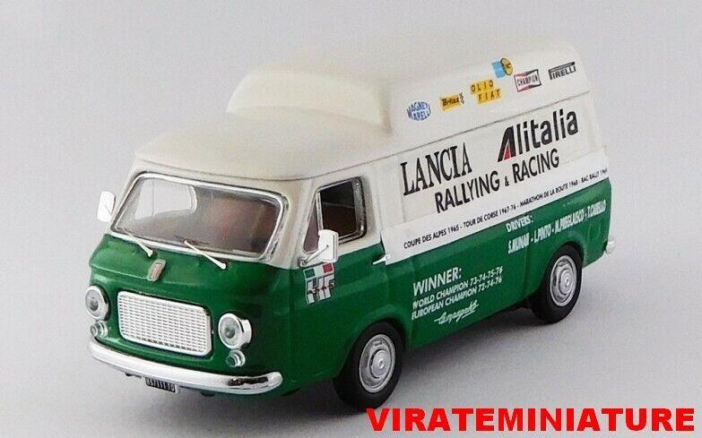FIAT 238 REHAUSSER ASSISTANCE RALLYE LANCIA ALITALIA STRATOS 1975-1977 RIO 1 43