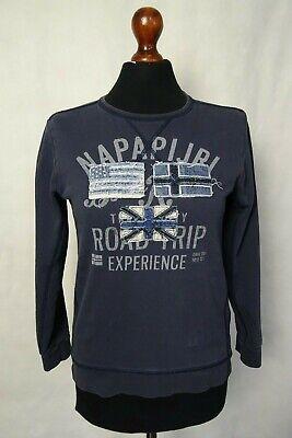 Dolce Women's Vintage Napapijri Maglione Jumper Xs-