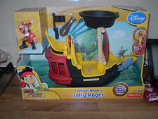 Disney Junior Jake and The Never Land Pirates Hook's Jolly Roger Pirate Ship New