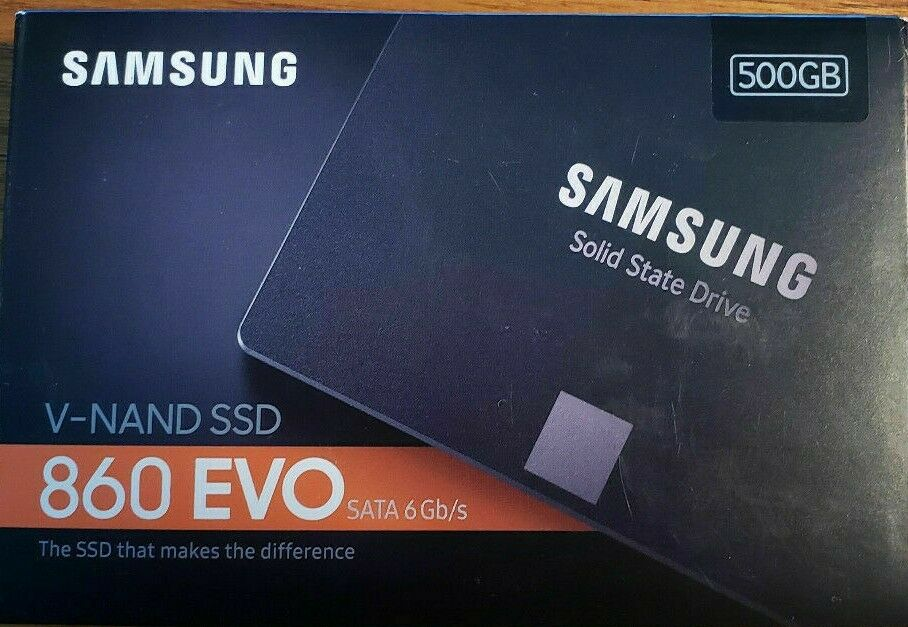 Samsung 860 EVO 500GB,Internal,2.5 inch (MZ76E500BAM) Solid State Drive. Buy it now for 55.00
