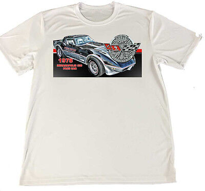 Chevy Corvette Pace Car T-Shirts FREE SHIPPING!! More to be added soon!