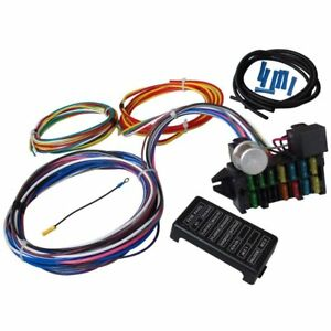 12 circuit universal wiring harness for muscle car hot rod street
