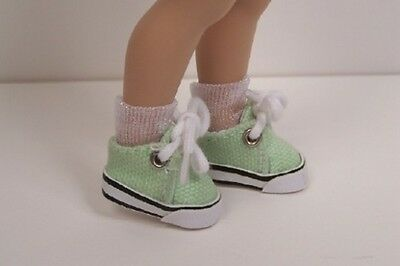 Debs DK BLUE Canvas Tennis Deck Sneakers Doll Shoes For Helen Kish Riley