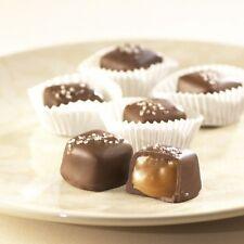 SweetGourmet Asher's SUGAR FREE Dark Chocolate Vanilla Caramel w/Sea Salt, 1LB