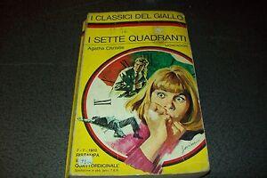 I-CLASSICI-DEL-GIALLO-MONDADORI-90-AGATHA-CHRISTIE-I-SETTE-QUADRANTI-BELLISSIMO