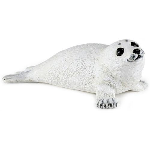 PAPO animaux aquatiques harp seal pup animal figure new