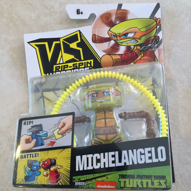 VS Rip-Spin Warrior Teenage Mutant Ninja Turtles Michelangelo