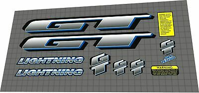 LIGHTNING GASOLINE Aufkleber Sticker Motorsport Diesel USA V8 Performance Mi354