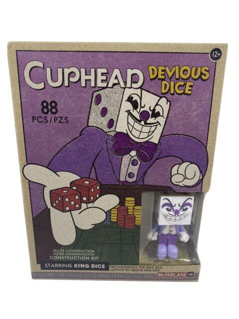 McFarlane Toys Building Small Set - Cuphead S1 - DEVIOUS DICE (King Dice)(88 pcs