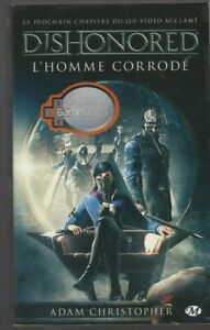 DISHONORED-L-039-homme-corrode-Adam-Christopher-LIVRE