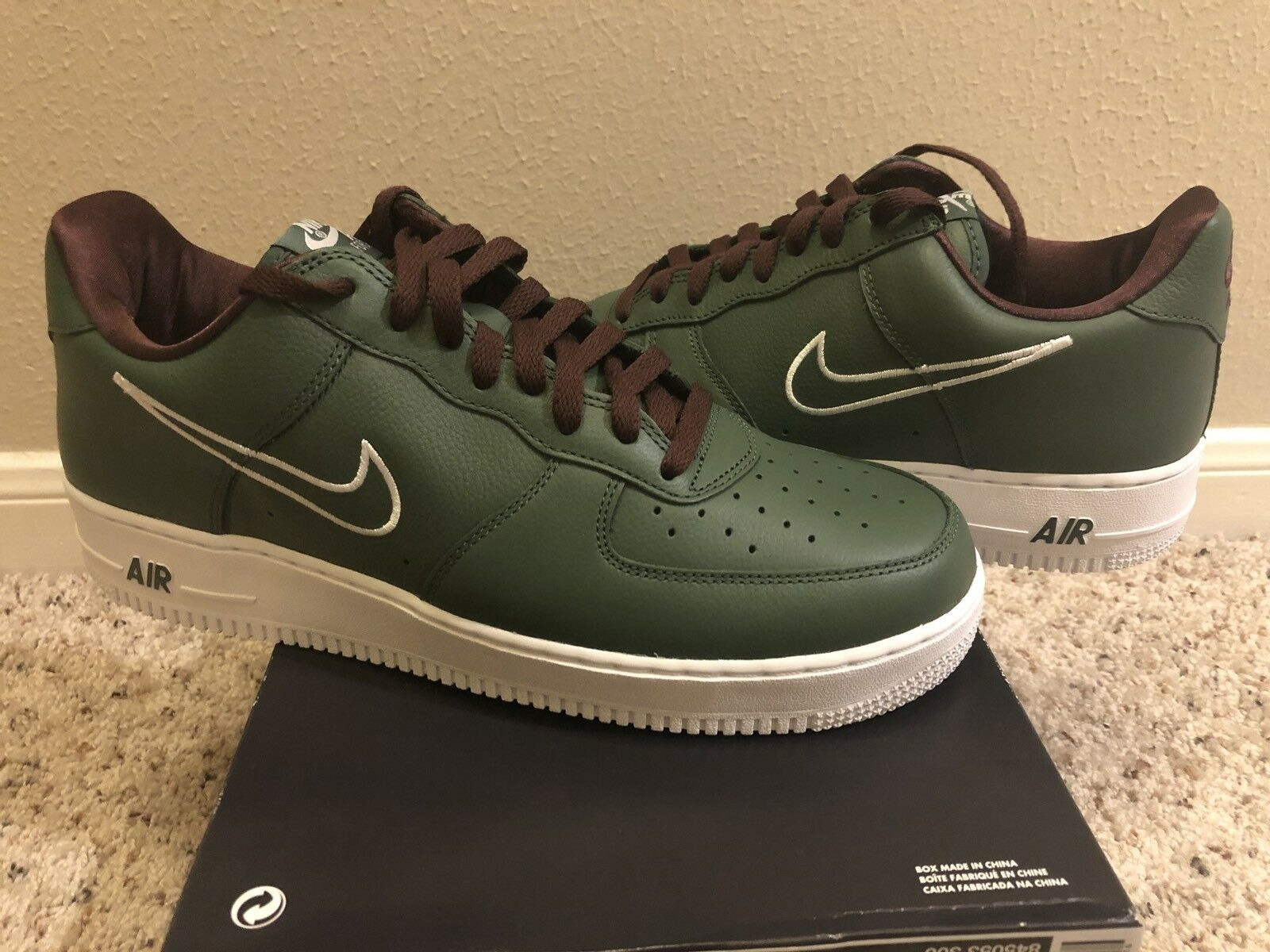 New DS 10.5 Nike Air Force 1 Hong Kong Forest Green Premium Co.jp