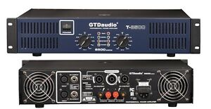 2 Channel 8500 Watts Professional Power Amplifier AMP ...