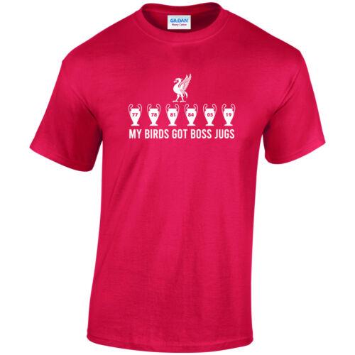 CFT Imprimé T Shirt Mes oiseaux a patron cruches Liverpool FC