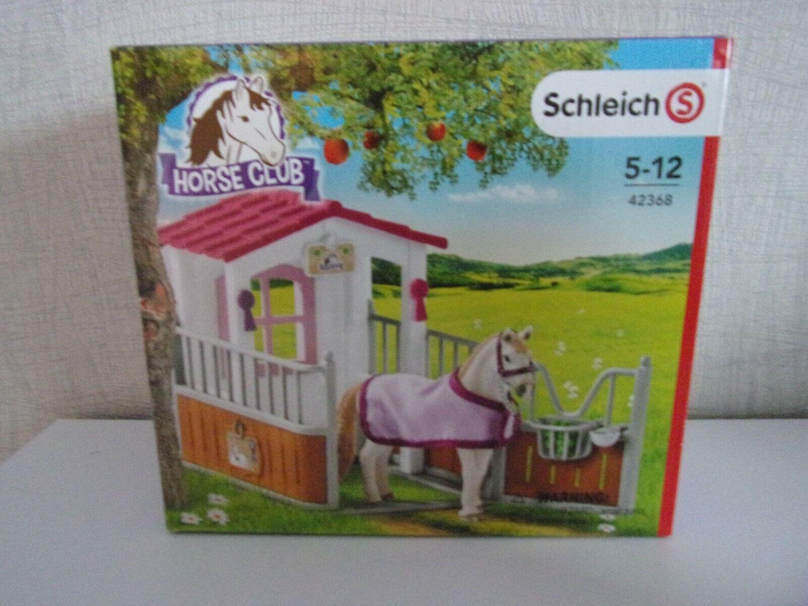 Schleich Horse Club 42368 Horse Box with Lusitano Mare - Nip