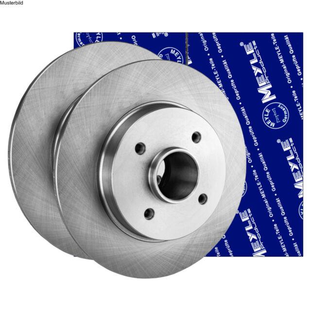 2x Bremsscheibe Vorderachse passend für Renault Midlum Bremsscheibensatz