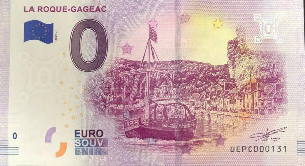 Bien Billet 0 Euro Gla Roque Gageac France 2019-1 N° Radar 131 Riche Et Magnifique