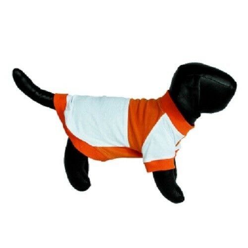 Shirt Orange and White Striped for Small Dogs Pets T