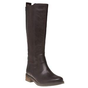 Chevalier pour hauteur Timberland Mont femmes cuir du marron en bottes Nouvelles genou hautes 6SRwqpUW