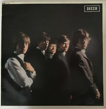 THE ROLLING STONES SELF TITLED LP DECCA MONO RED LABELS RARE EARLY 1980S UK