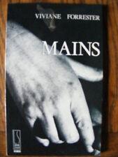 Viviane Forrester Mains Librairie Séguier 1988 Envoi