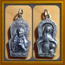 Vintage Mission Of Our Lady Of Mercy Pray For Us 1887-1962 Chicago Ill. Pendant