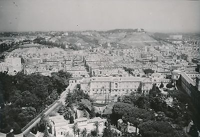 Ambitieus Italie C. 1950 - Panorama Sur Rome Le Musée Du Vatican Les Jardins - Div 9843