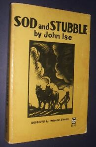 Sod-and-Stubble-by-John-Ise-Inscribed-by-Ise-Lindley-with-Annotations-Genealogy