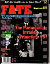 Fate Magazine November 1994 Paranormal TV Linda Cortile Alien Abduction Case
