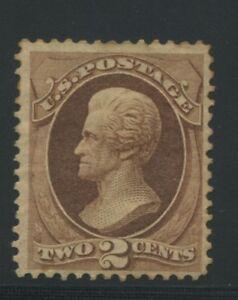 1870-US-146-A45-2c-Mint-Original-Gum-Stamp-Catalogue-Value-300-Certified