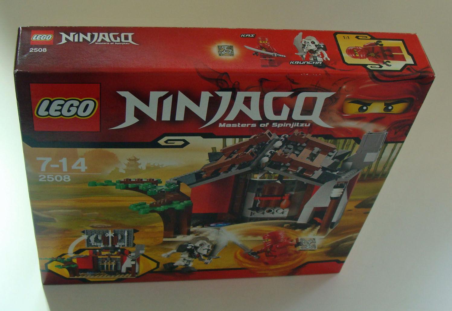 LEGO ® Ninjago 2508-segreta fucina officina 189 parti 7-14 ANNI-NUOVO