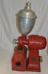 Antique-Valley-Mill-Electric-Coffee-Grinder