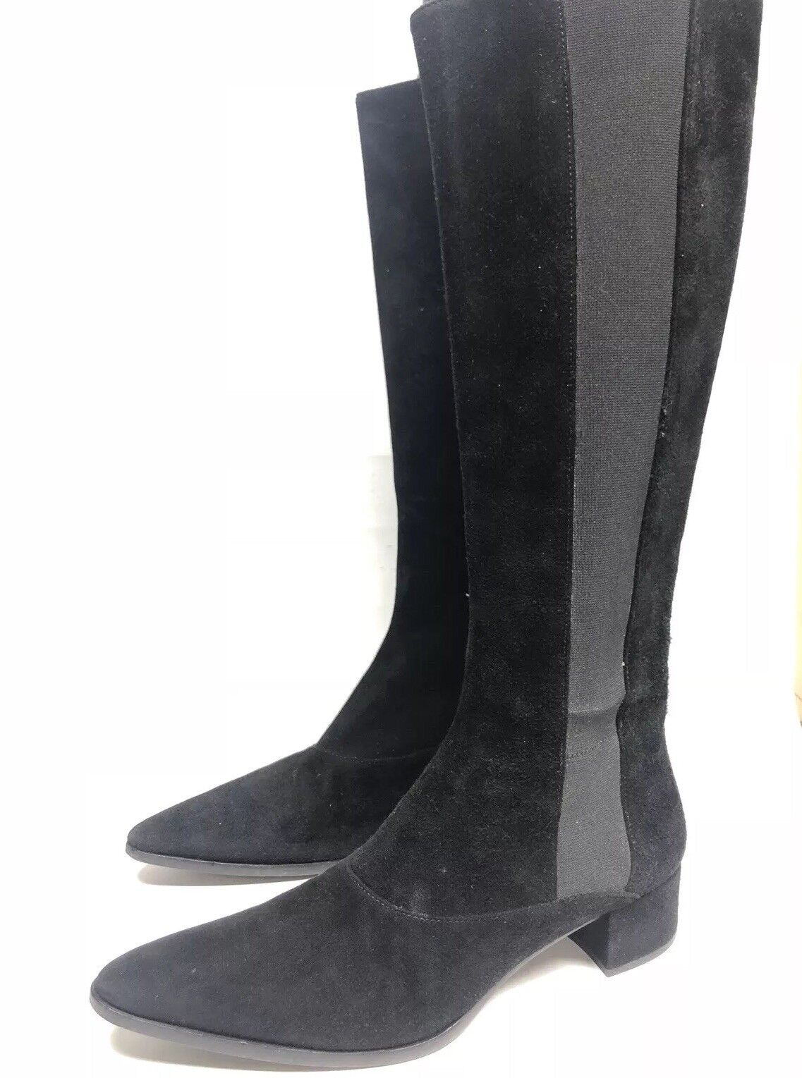 Prada Black Suede Boots 37.5