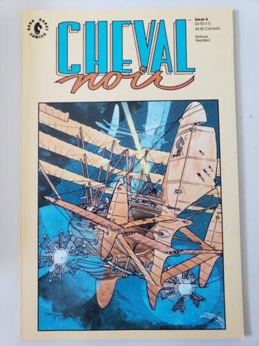 CHEVAL NOIR #6 PRESTIGE FORMAT DARK HORSE COMICS MIKE KALUTA COVER ART! 1990
