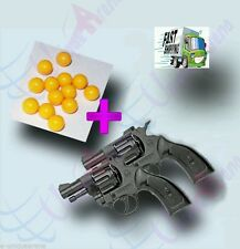 1600+Pcs High Grade 6mm Plastic BB Pellets + 2 Pcs 8 Round Mini Toy Gun