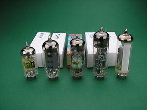 Röhrensatz ECC85 ECH81 EAF801  ECL86 EM87 Tube set NOS -> Röhren für Röhrenradio