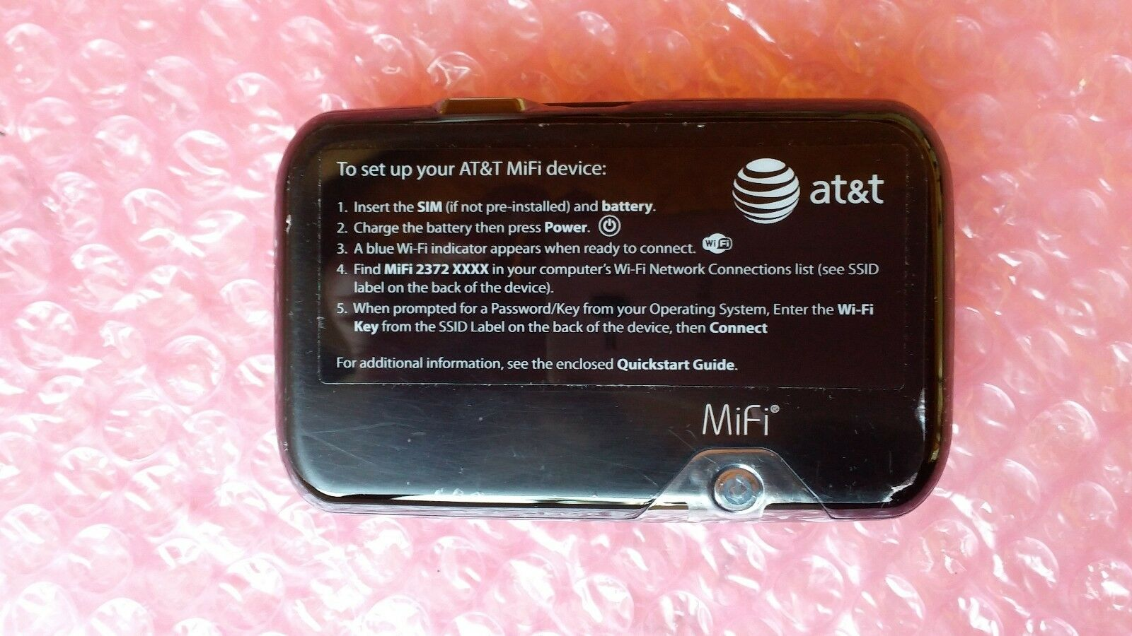 novatel mifi 2372 wireless g router ebay rh ebay com at&t mifi 2372 manual at&t mifi 2372 manual