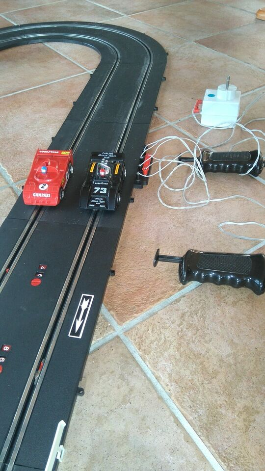 Elektrisk Racerbane, fjernstyret, Polistil