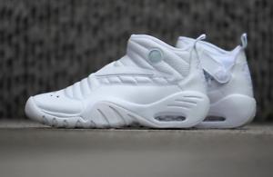2c8319f3955f 2017 Nike Air Shake NDESTRUKT size 7.5 Triple White OG Dennis Rodman ...
