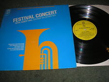 BRASS BAND FESTIVAL CONCERT ROYAL ALBERT HALL OCTOBER 1970 PYE GSGL 10470