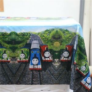 180x108cm-Disposable-Re-Usable-PVC-Table-Cover-Tablecloth-Kids-Party-Thomas