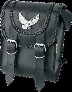 Vintage Black Luggage Rack V-Twin 49-0832