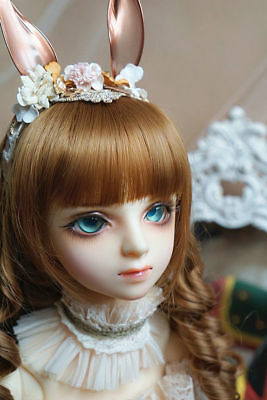 Resin BJD 1//3 Doll Suis Free Eyes Face Make Up BJD SD Doll