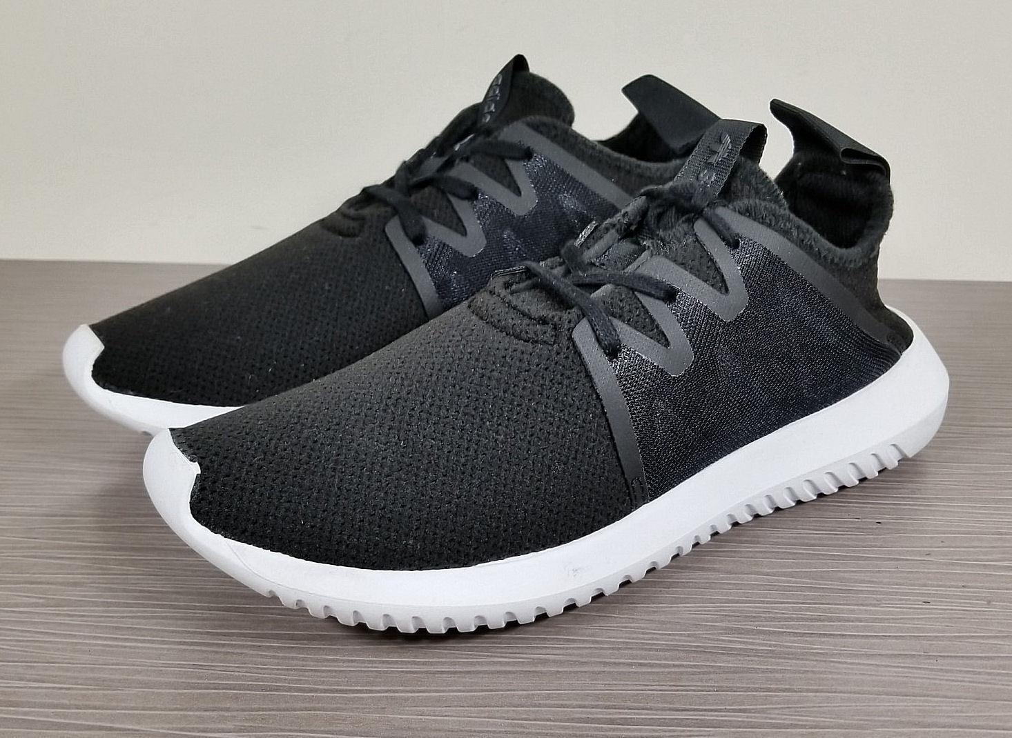 Adidas tubulare virale 2.0 basso ginnastica, sopra le scarpe da ginnastica, basso nero, donna taglia 6 / 37 76b4c4