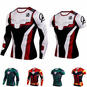 Unisex-The-Avengers-Endgame-Shirt-3D-Printed-Compression-Tops-Cosplay-Costumes