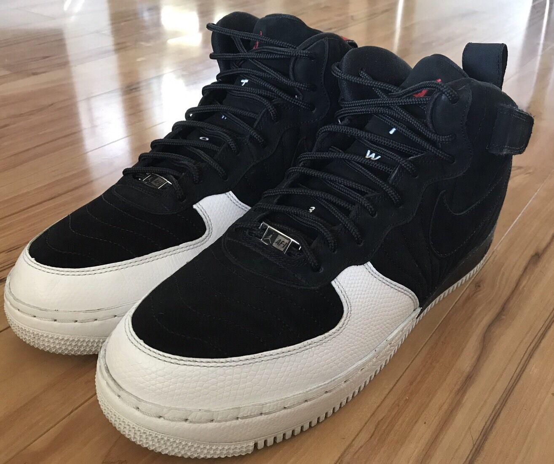 """07 Nike Air Jordan AJF12 """"Fusion"""" Black/White 317742-061 PLAYOFF Men's Sz 10.5"""