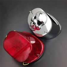 Brake Tail Lights For XL FLSTF Touring models FLHRC FLHTC LED RED Collar cover