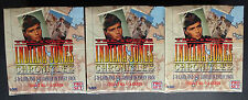 3x The Young Indiana Jones Chronicles Trading Card Hobby Box 1992