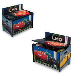 Boys Toy Box Storage Organizer Bedroom Toybox Bin Indoor ...