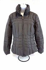 Calvin Klein Women's Gray Faux Fur Lined Winter Down Jackets Size XS [BA5780]